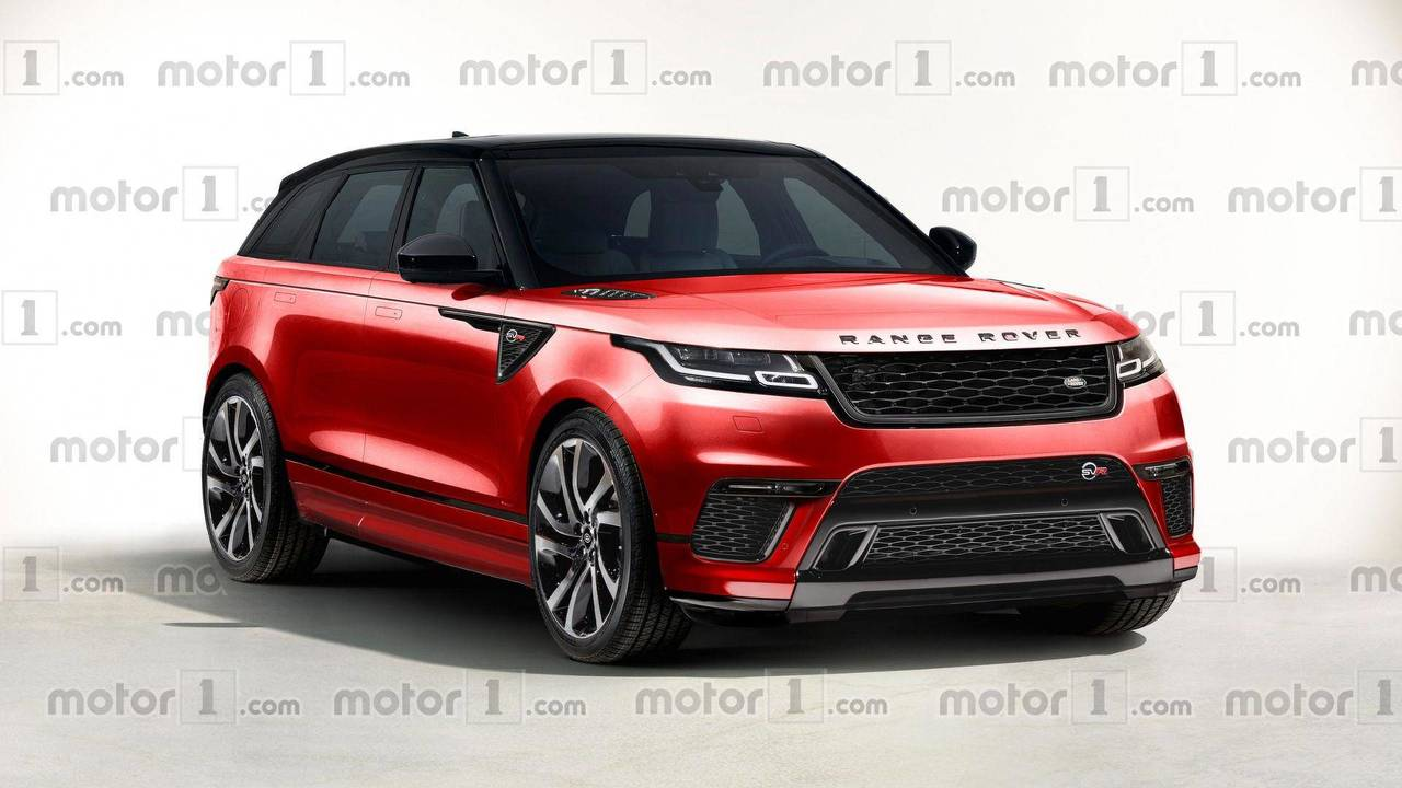 2019 Range Rover Velar SVR