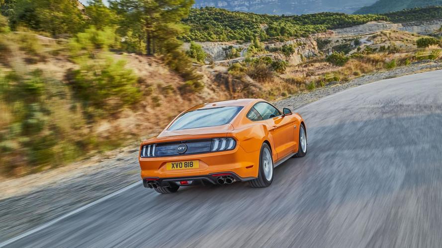 2018 Ford Mustang, Avrupa'ya 450 bg güçle geldi