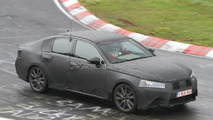 2012 Lexus GS spied on the ring 13.07.2011