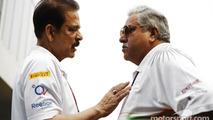 Subrata Roy Sahara, Sahara Chairman with Vijay Mallya