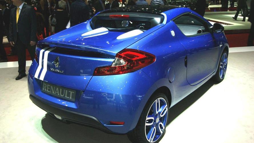 Renault Wind Gordini goes topless in Geneva