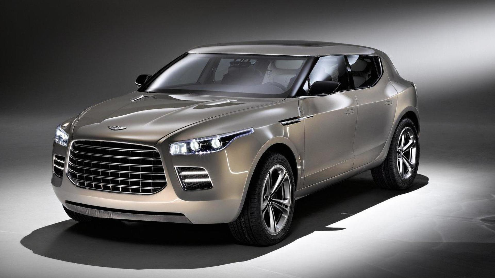 Aston Martin Design Director downplays a crossover hints at new