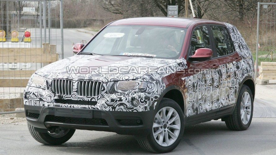 2011 BMW X3 Prototype Reveals New Body Details Via Less Camouflage