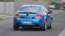 Opel Insignia OPC in Blue - Clearest Spy Photos Yet