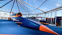 Bloodhound SSC show car unveiled at Farnborough on 19.07.2010