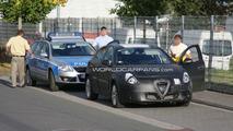 Alfa Romeo Milano Prototype Spied During Police Stop 09.30.2009