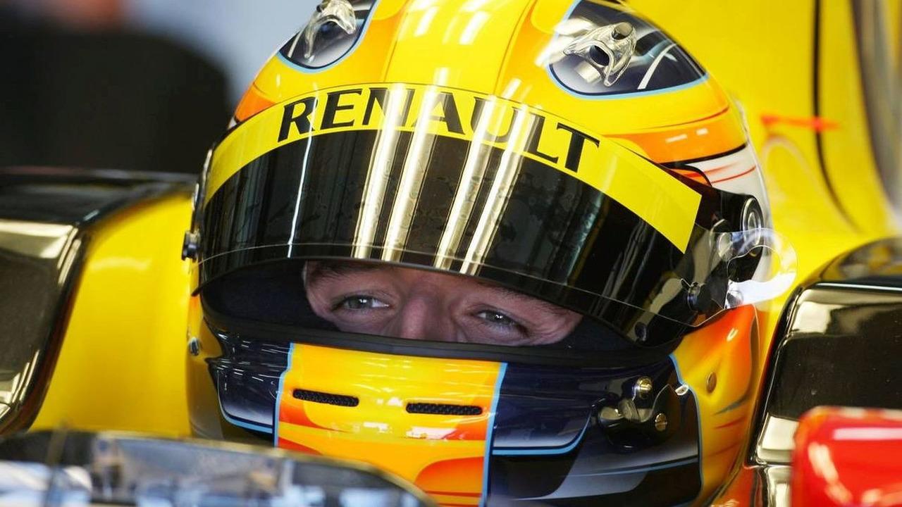 Robert Kubica (POL), Renault F1, 01.02.2010 Valencia, Spain