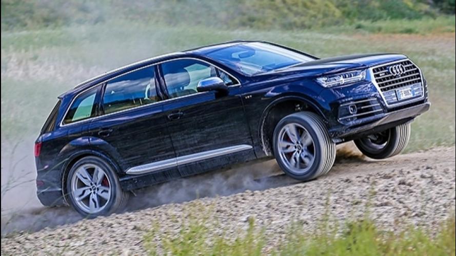 Audi SQ7 TDI, il SUV con la S da
