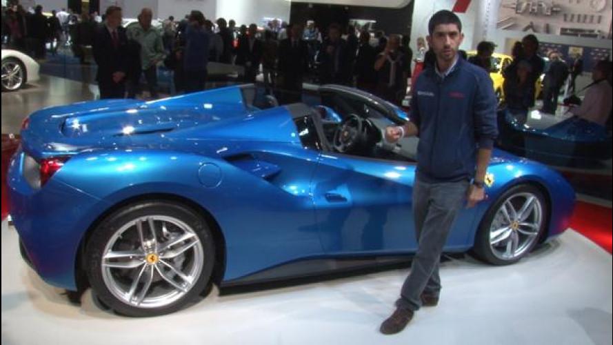 """Ferrari 488 Spider, la comprereste """"non-rossa""""? [VIDEO]"""