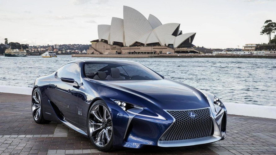 Lexus LF-LC reconfirmed for production, won't be positioned as an LFA successor