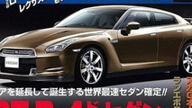 Nissan Developing new SUV & Sedan Based on GT-R Platform?