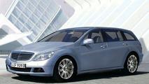 New Mercedes-Benz C-Class Estate - Artist Impression