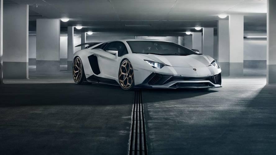 Lamborghini Aventador S par Novitec