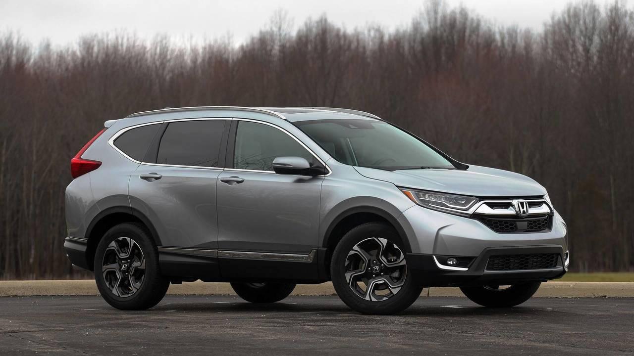 7. Honda CR-V: 377,895 Units