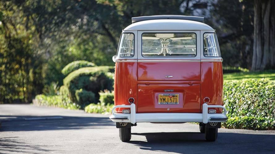 1960 Volkwagen Deluxe 23-Window Microbus