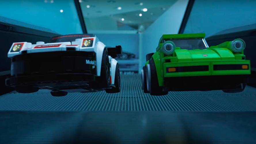 Watch The Latest Porsche Lego Set Come Alive At The Museum