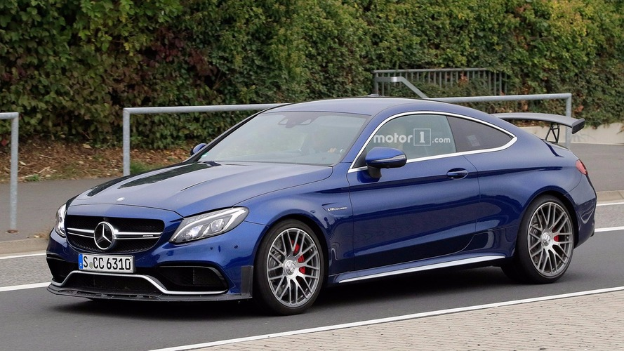 Mercedes-AMG C63 R Coupe spied for the first time