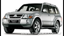 Mitsubishi anuncia Recall do Pajero Full para troca de peça do sistema de freios