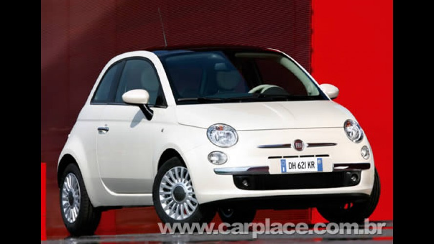 Fiat 500 atinge 175 mil pedidos - Fila de espera pode chegar a um ano