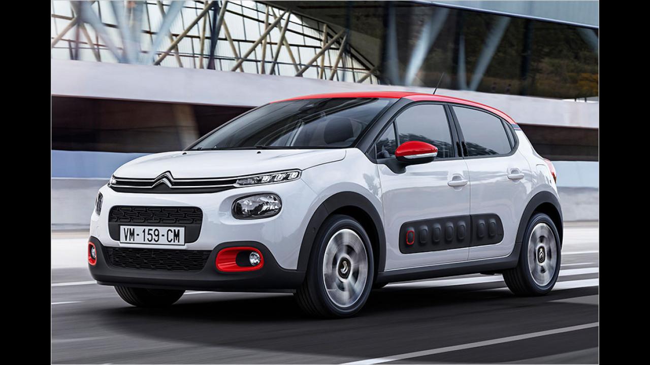 Für die mutigeren Designfans: Citroën C3