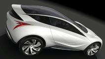 Mazda Kazamai Concept Unveiled at Moscow Motor Show