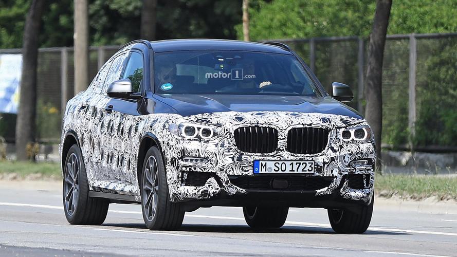 BMW X4 2019 fotos espía