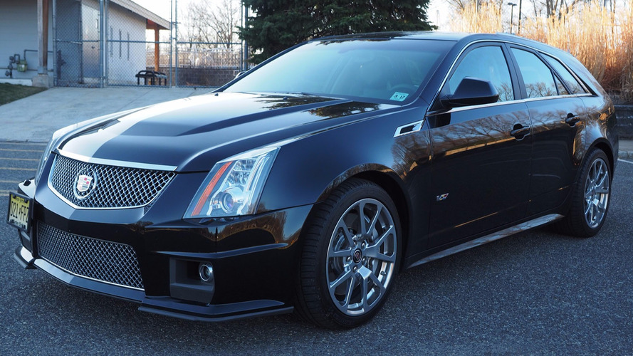Score This Rare 2012 Cadillac CTS-V Manual Wagon While It's Affordable