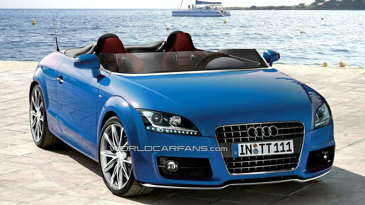 Audi TT Speedster artist rendering
