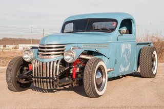 1939 Chevy Rat Rod Pickup Comes Loaded With Power and Style