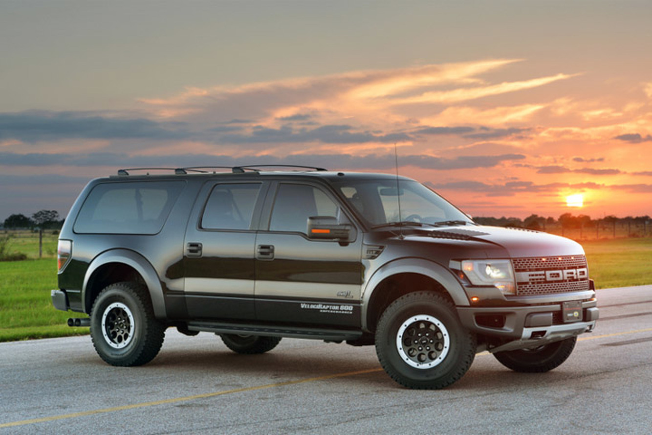 Watch the Hennessey VelociRaptor Super-SUV Action [Video]
