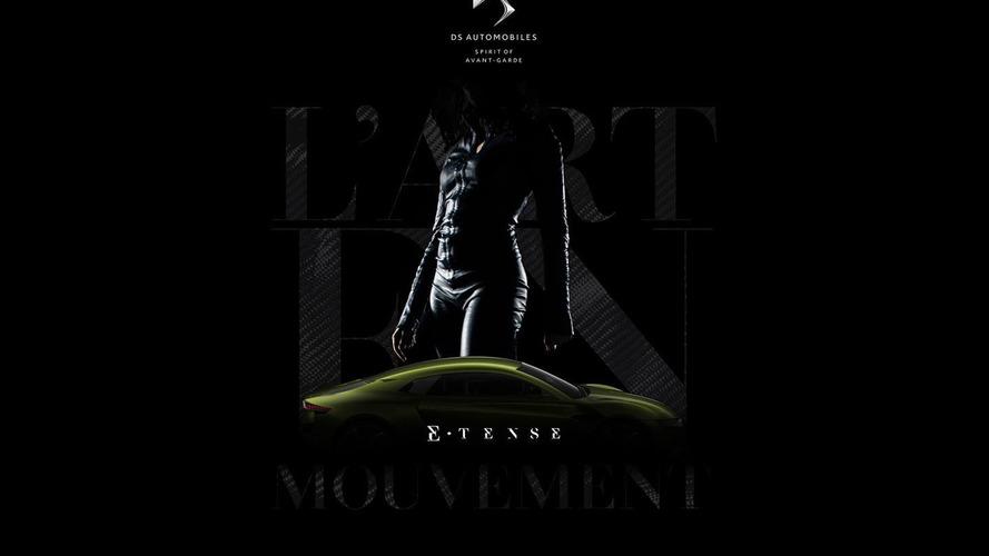 DS E-Tense concept teased, debuts tomorrow morning