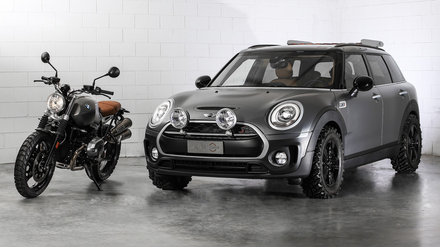 MINI Clubman All4 Scrambler concept