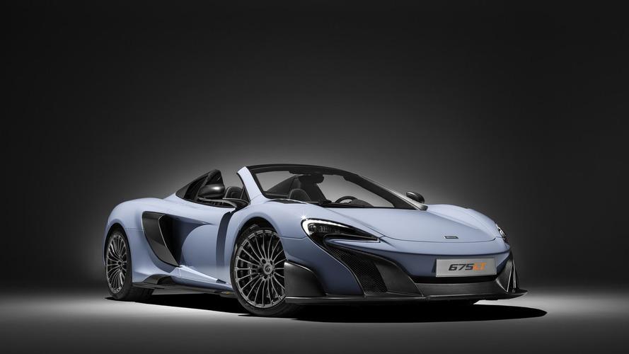Une version musclée de la McLaren 675LT surprise en France?