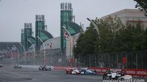 Race start: Will Power, Team Penske Chevrolet leads