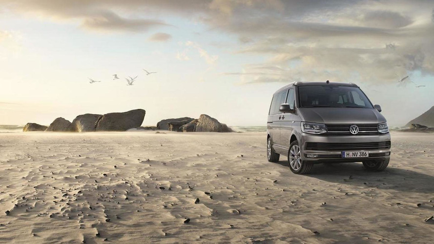 New Volkswagen California unveiled, based on the T6