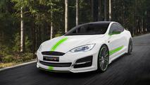 Mansory donne un package agressif à la Tesla Model S