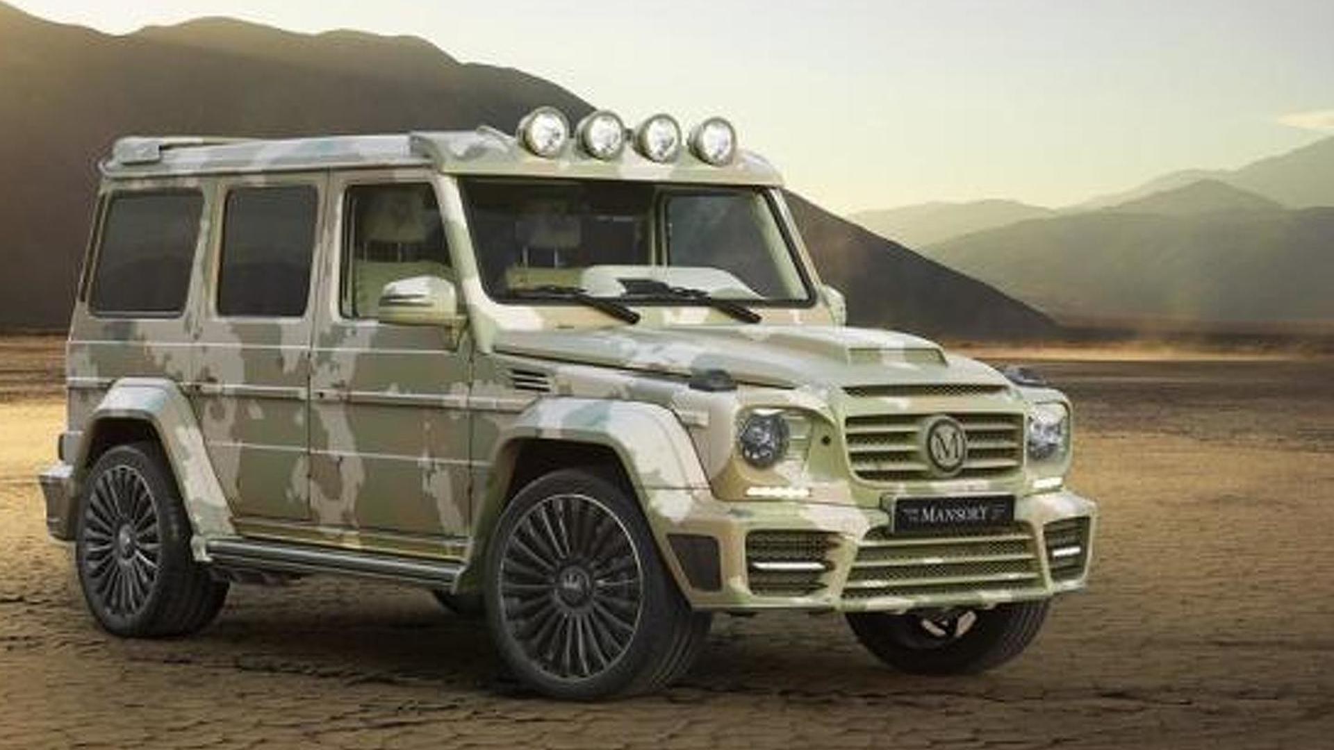 Mercedes benz g63 amg sahara edition by mansory is for Mercedes benz g 63