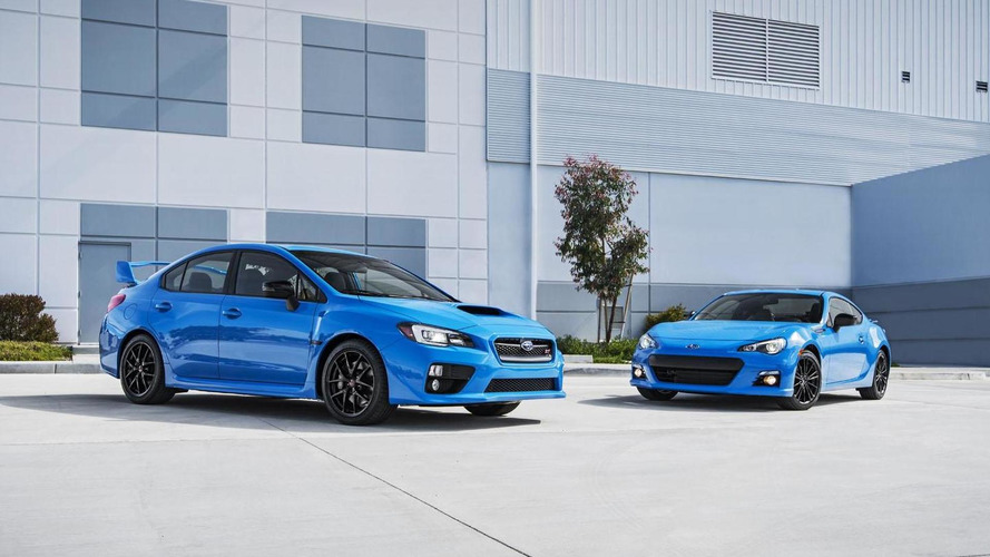 Subaru BRZ & WRX STI Series.HyperBlue special editions announced