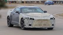 2019 Chevy Camaro Interior Spy Photos