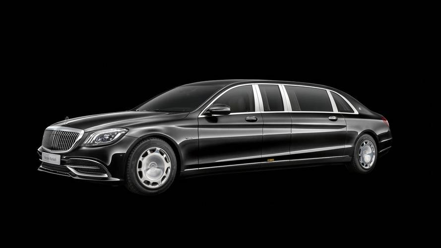 Mercedes-Maybach Pullman refreshed with new grille and interior upgrades