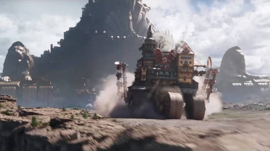 Mortal Engines: Tekerlekli şehirleri konu alan bir kıyamet filmi