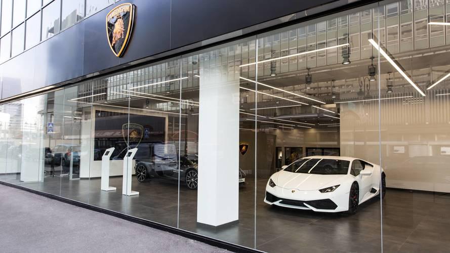 Concession Lamborghini - La Défense
