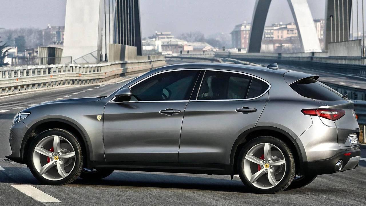 Ferrari SUV'a acayip tasarım yorumu