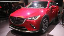2019 Mazda CX-3 at the 2018 New York Auto Show