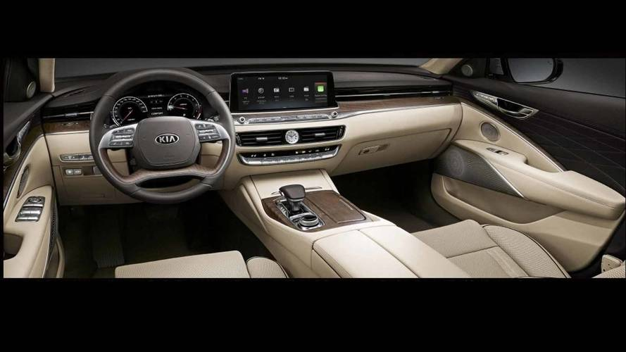 Kia K900 Shown Ahead of New York Auto Show