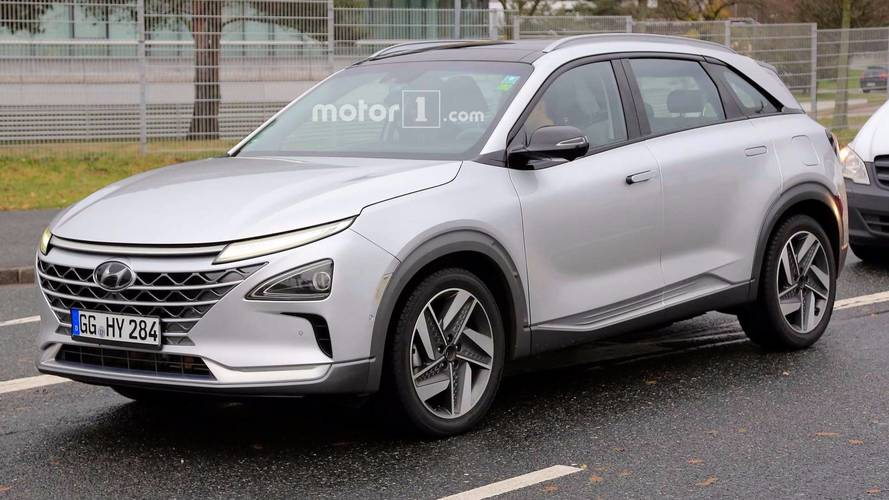 Hyundai Second-Gen FCEV Fuel Cell Vehicles Spied In Germany