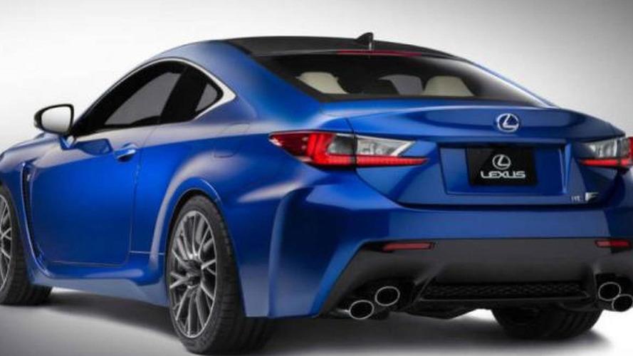 2015 Lexus RC F leaked, debuts in the Motor City