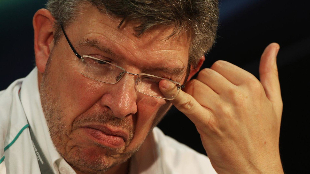 Ross Brawn 24.05.2012 Monaco Grand Prix