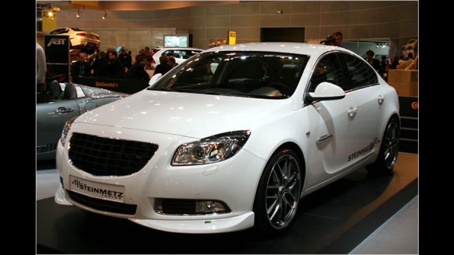 Steinmetz möbelt Opel Insignia ordentlich auf