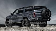 Projeção do Ford Bronco